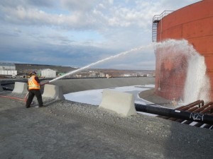 Snap Lake Fuel Module Foam System Testing
